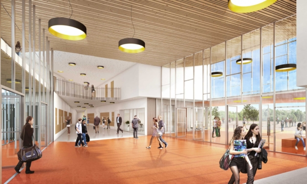 Tetrarc coll ge michel ragon for College lasalle design interieur