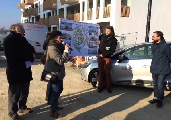 Tetrarc visite de chantier for Visite de chantier